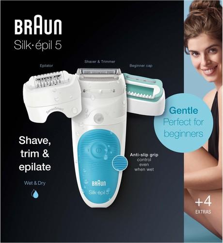 Procter&Gamble Braun Epilierer Silk-epil5 5-610 SensoSmart
