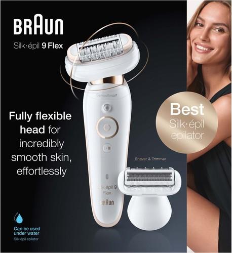 Procter&Gamble Braun Epilierer Silk-epil9 9 Flex SES 9002 3D