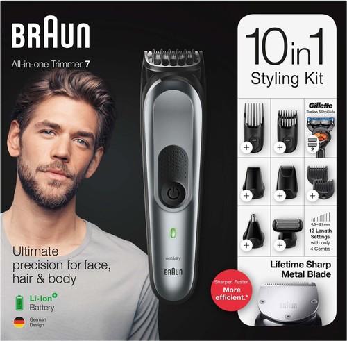 Procter&Gamble Braun Bart/Haarschneider/Trimmer MultiGroomingKit MGK7221