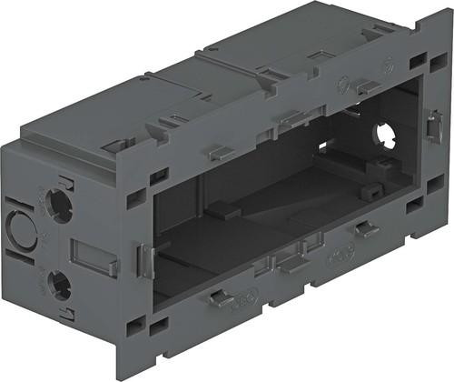 OBO Bettermann Vertr Geräteeinbaudose 3-fach ch 160x76x51mm gr 71GD9-2