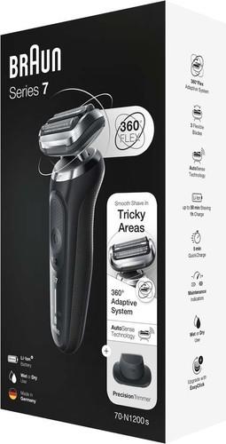 Procter&Gamble Braun Rasierer Series7 S7 70-N1200s sw/gr