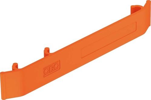 OBO Bettermann Vertr Kennzeichnungsschild 127x18mm,orange KS GR OR