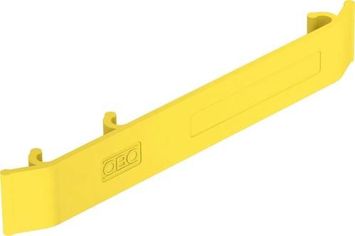 OBO Bettermann Vertr Kennzeichnungsschild 127x18mm,zinkgelb KS GR ZGB