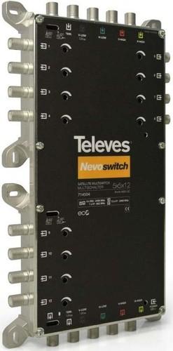 Televes Multischalter 5 in 12 Guß NEVO recpower kask. MS512C