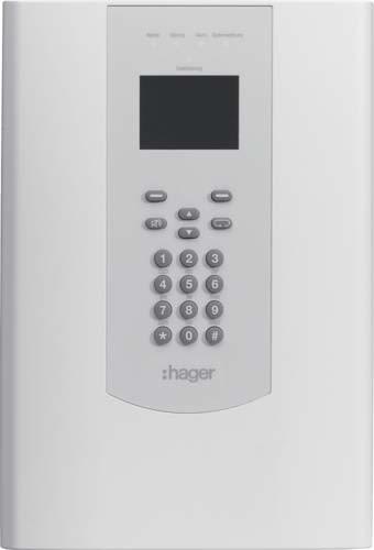 Hager Funk-Zentrale RFZ050D