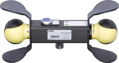 ABB Stotz S&J Handbedieneinheit 2x Safeball JSD-TD25P-820200