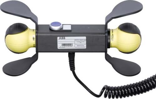 ABB Stotz S&J Handbedieneinheit 2x Safeball JSD-TD25P-820700