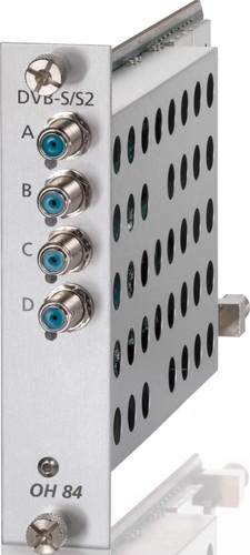 Wisi Quad-Kanal Modul DVB-S/S2 in QAM OH 84