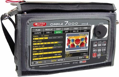RO.VE.R HD-Analyser TV/CATV DVB-T/T2/C OMNIA 7000-OPTIC