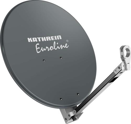 Kathrein Parabolantenne Euroline 65cm aluminium graphit KEA 650/G