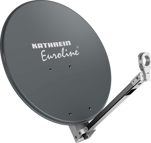 Kathrein Parabolantenne Euroline 85cm aluminium graphit KEA 850/G