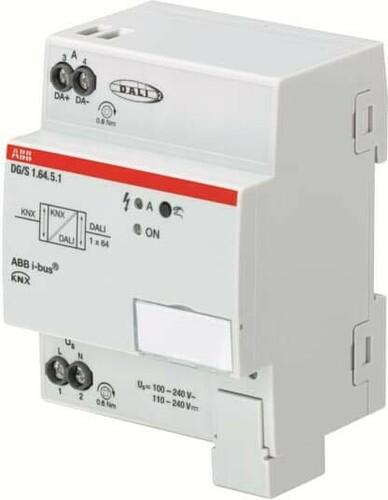 ABB Stotz S&J DALI-Gateway Premium, 1-fach ch, REG DG/S1.64.5.1