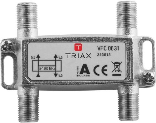 Triax Hirschmann Verteiler 3-fach 5,5dB VFC 0631 1,2 GHz