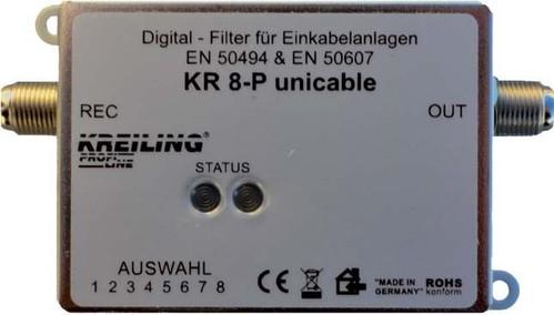 Kreiling Tech. DiSEqC Filter 47-2150MHz Einkabel KR 8-P unicable