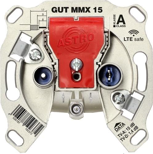 Astro Strobel BK-Modem-Durchgangsdose 15dB 5-1218 MHz GUT MMX 15