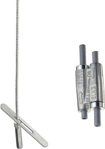 Erico Stahlseilsystem D1,5mm, L10m SLK15L10T