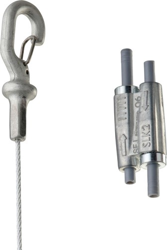 Erico Stahlseilsystem D2mm, L1m SLK2L1