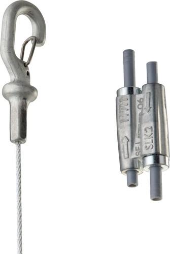 Erico Stahlseilsystem D2mm, L10m SLK2L10