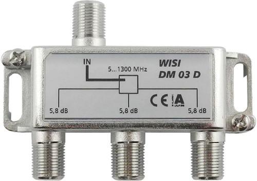 Wisi Verteiler 3-fach 5-1300MHz 5,8dB Cl.A DM 03 D