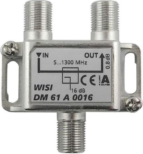 Wisi Abzweiger 1-fach 5-1300MHz,16dB Cl.A DM 61 A 0016