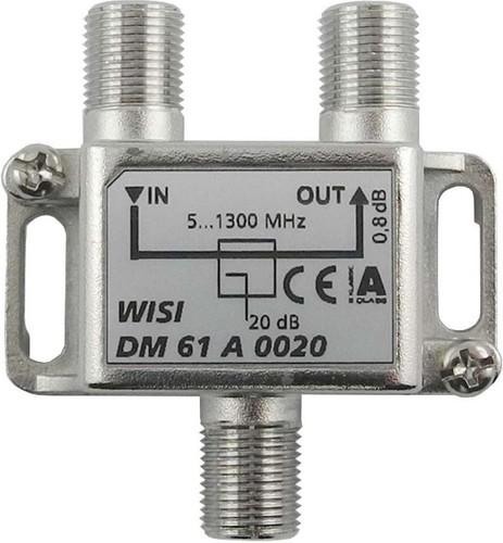 Wisi Abzweiger 1-fach 5-1300MHz,20dB Cl.A DM 61 A 0020