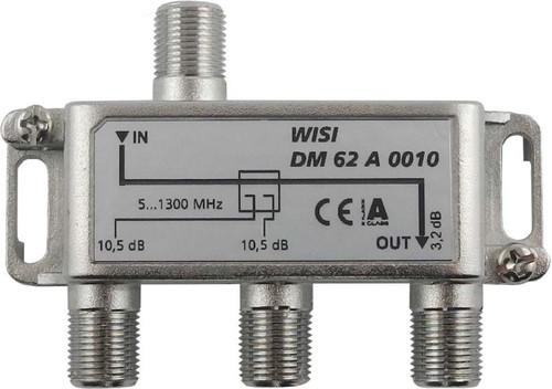 Wisi Abzweiger 2-fach 5-1300MHz,10dB Cl.A DM 62 A 0010