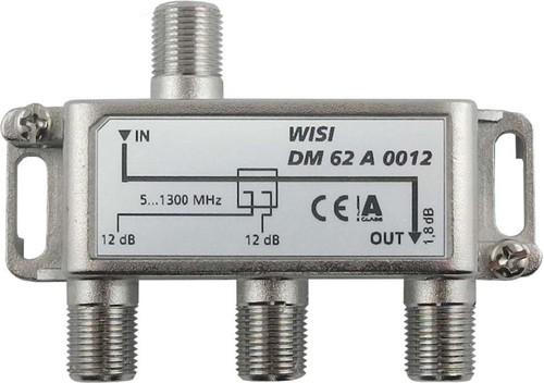 Wisi Abzweiger 2-fach 5-1300MHz,12dB Cl.A DM 62 A 0012