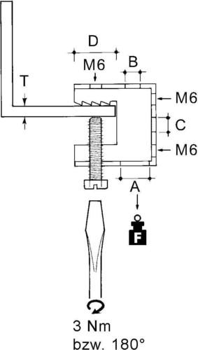 Niedax Schraubklemme FH-65