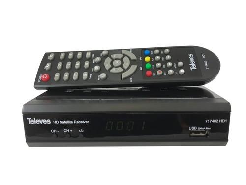 Televes SAT-HD-Receiver FTA HD1