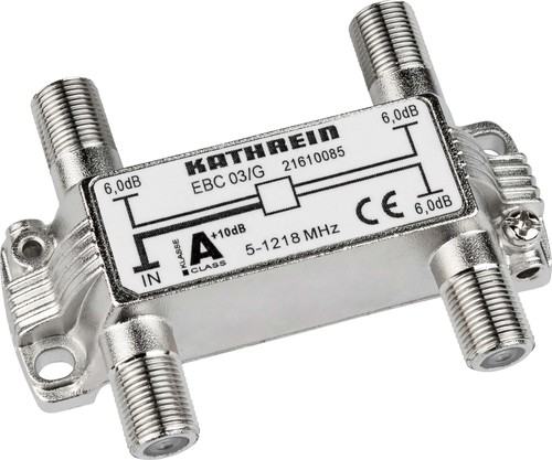 Kathrein Verteiler 3-fach 5-1218 MHz 6dB EBC 03/G