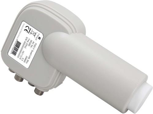 Triax Hirschmann Empfangssystem Quad-LNB 40mm TIQD 3°