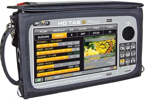 RO.VE.R HD-Analyzer Sat/TV/CATV/DVB-S HD TAB 9 Plus