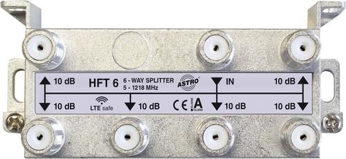 Astro Strobel Verteiler 6-fach 10db 5-1218MHz HFT 6