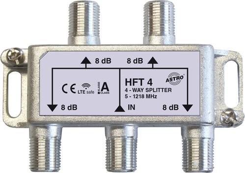 Astro Strobel Verteiler 4-fach 8db 5-1218Mhz HFT 4