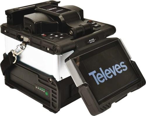 Televes Lichtbogen Spleißgerät mit Zubehör OSSGT