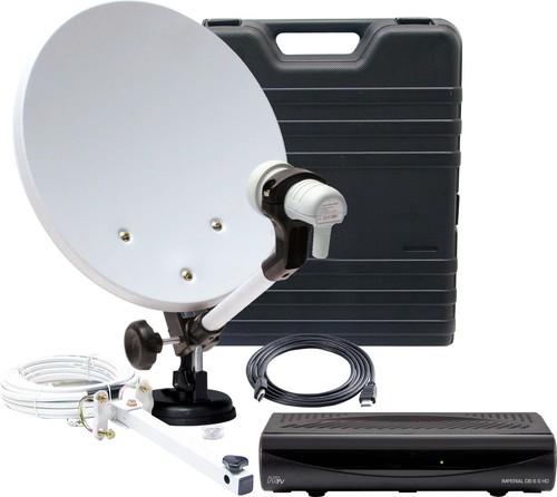 Telestar Camping Sat-Paket m.Receiver/Player 5103329