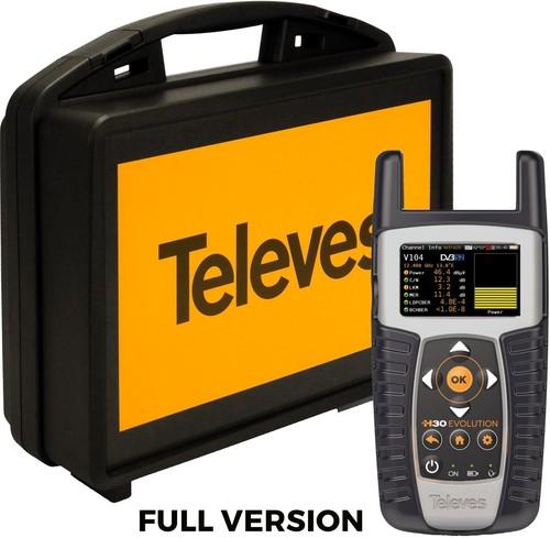 Televes Antennen Messgerät+Analyze H30E IPTV+WIFI H30E-F