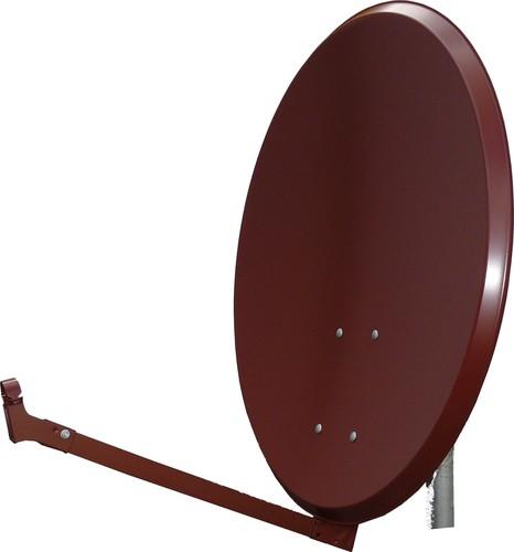 Televes Alu-Reflektor 80cm ziegelrot S80EL-Z