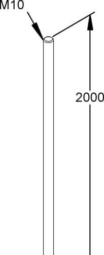Niedax Gewindestab M 10/2000
