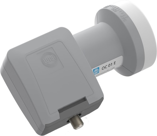 Wisi Speisesystem Univ.-Single LTE lichtgrau OC01E