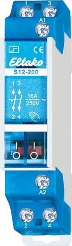 Eltako Stromstoßschalter f.Reihe. 2S 16A S12-200-12V