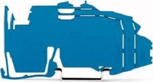 WAGO Kontakttechnik Sammelschienenträgerplatte für TS35 2009-304