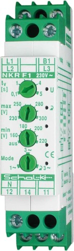 Schalk Netz-Überwachungs-Relais m.Drehf. 3x230/400V NKR F1