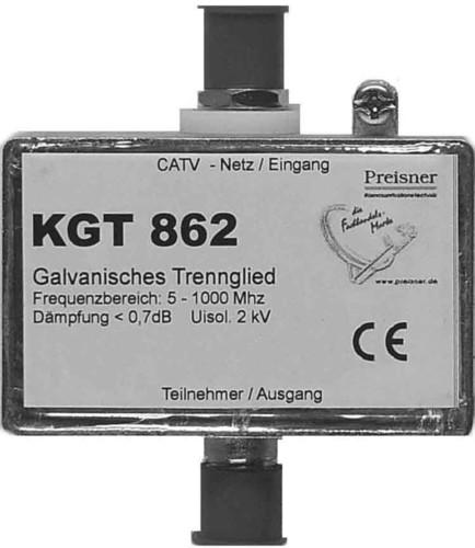 Televes Galvanisches Trennglied für BK-Anlagen KGT 862