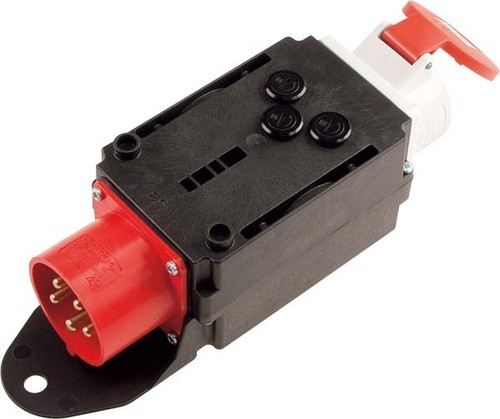 Bachmann CEE-Adapter 1xSt.32A 400V 1xDose 349.183