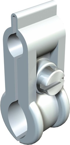 OBO Bettermann Vertr ISO-Spanndrahtschelle grau 4024 9-16