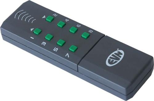 EVN Lichttechnik Funk-Handsender 8 Kanäle FHS 815