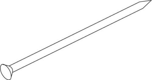 HKL Stahlnagel gehärtet 662/16