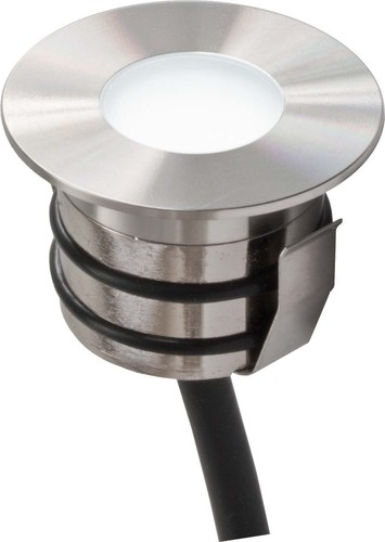 EVN Lichttechnik Bodeneinbaustrahler edelstahl 12V 0,6W LED weiß 441 510