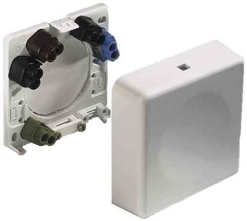 ABL Sursum Geräte-Anschlußdose weiß AP 2505010